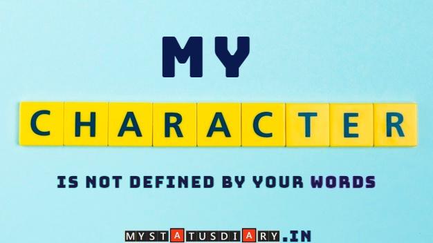 Best Character Quote Mystatusdiary Watsapp Status Sad Shayari Inspirational Quotes Hindi Shayari Jokes Love Shayari